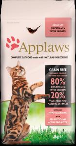 Alimento Seco Para Gato – Pollo con Salmon Adicional