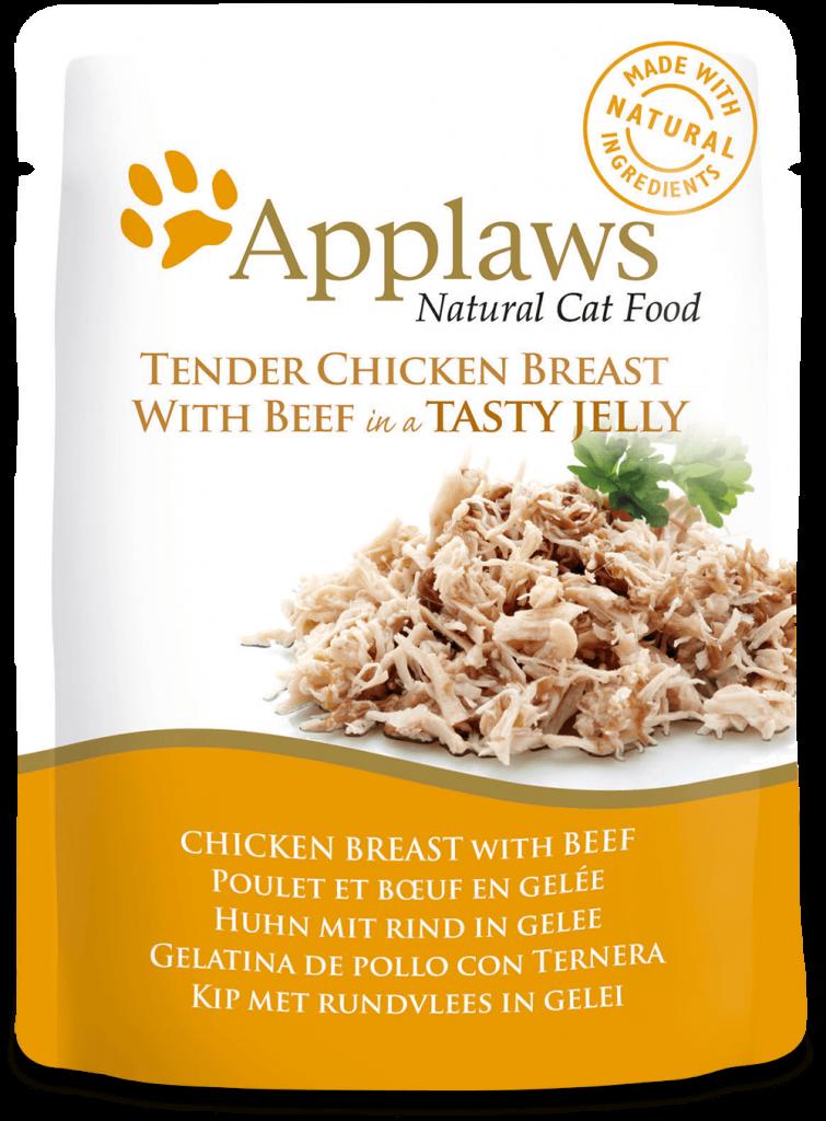 Gelatina de pollo con ternera 1