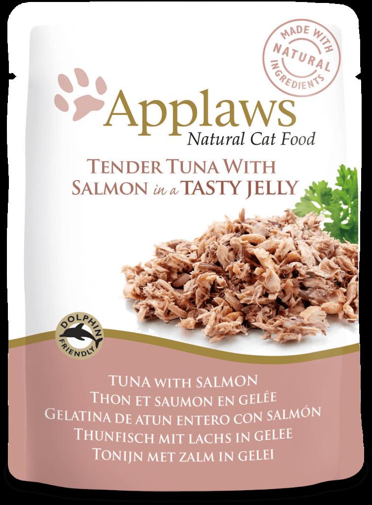 Gelatina de atún entero con salmón 1